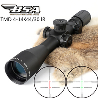 Bsa Tmd 4 14x44 Ir First Focal Plane Ffp Rifle Scopes Side Parallax Glass Etched Reticle Illuminated Hunting Tactical Riflescope