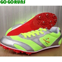 Long Race Sprint Outdoor Ultralight Breathable Spikes Running Shoes Women Trainers Sport Track Field Sneakers Athletic