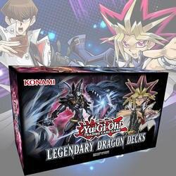 153 шт./компл. Yu-Gi-Oh торговый игровых карт легендарный Дракон стойки английский карты Аниме игра юджиох карты для сбора HX225