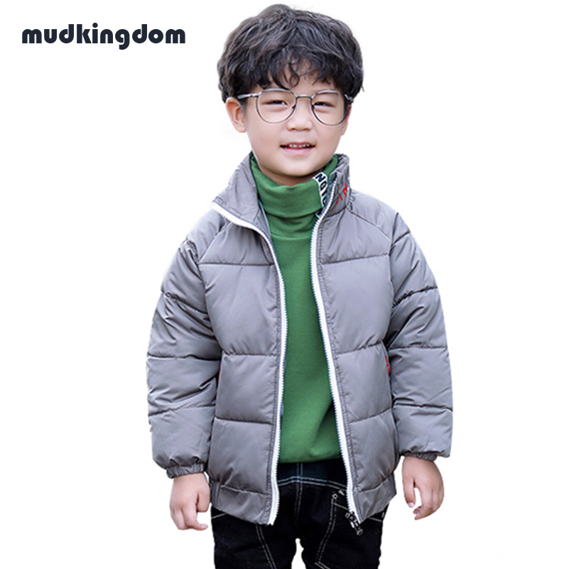 Mudkingdom Boys Girls Winter Warm Down Jackets Coats Kids Baby Girl Clothes Minni Girls Spring Outdoor School Turtleneck Parkas warm baby boys clothing sets winter russia baby girl ski suit child outdoor clothes kids down coats jackets trousers jumpsuit