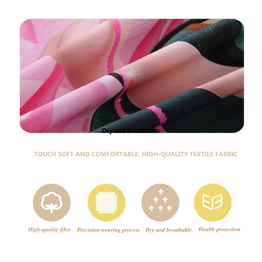 GOANG 3d bedding sets bed sheet duvet cover pillow case 3d digital printing rose lover 3pcs luxury bedding sets home textiles in Bedding Sets from Home Garden