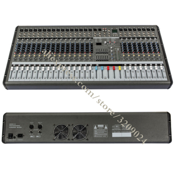 High-power Export Mixer High Power 24 Channel Mixer Stage Performance Equipment OEM with USB Recording Microphone Mixing