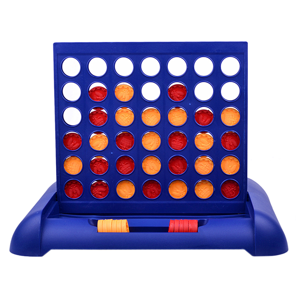 ouat entertainment Sports Entertainment Connect 4 Game Children's Educational Board Game Toys for Kid Child New