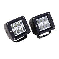 2pcs Lot 18W LED Cree Work Light Offroad Fog Spot Wide FLood Light For SUV ATV