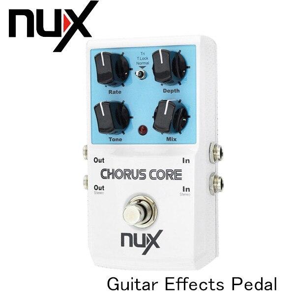 NUX Pedal Chorus Core Guitar Pedal Guitar Effect Pedal Tone Lock ...