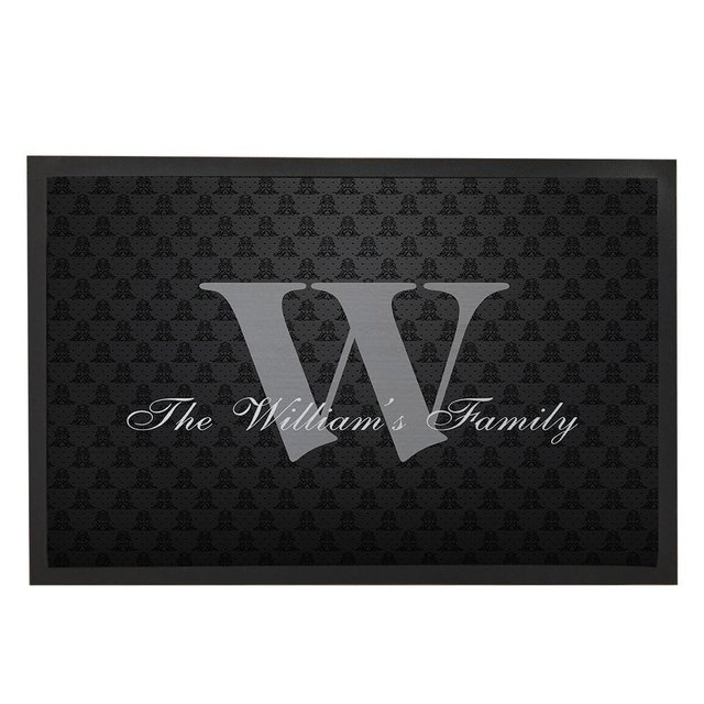 Black Family Doormat Gifts Welcome Outdoor Mats Custom Front Door Mat  Doormat Funny With Family Name