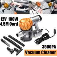 Strong Power 3500pa car vacuum cleaner DC 12V 100W Portable Handheld Cyclonic Wet/Dry Auto Portable Wireless Vacuums Cleaner