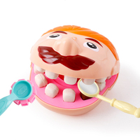 Children Toys Dentist Role Play Plasticine House Playing Toy Tooth Extraction Filling Educational DIY Clay Mold Set Kids Gifts