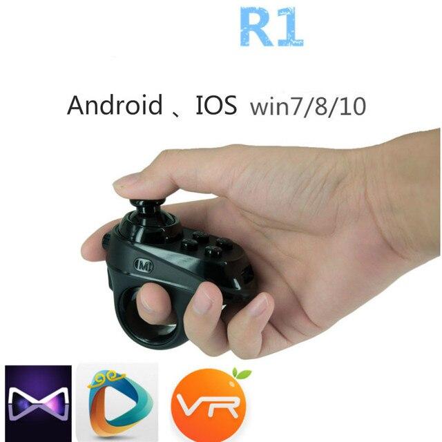 VR Коробка Очки Виртуальной Реальности Игровой Контроллер Bluetooth 3d-очки Интеллектуальный Пульт Дистанционного Универсальный Управления Для IOS Эндрюс