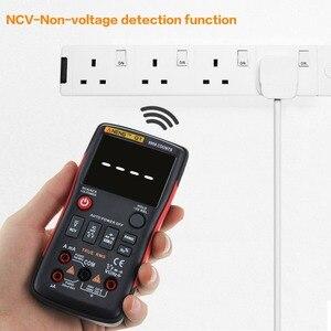 Image 4 - Q1 9999 cuentas NCV verdadero RMS multímetro Digital profesional de rango automático condensador Transistor probador Mini LCR multímetro AC/DC