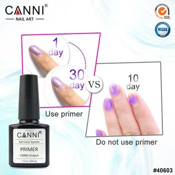#40603 CANNI Factory Supply 7.3ml No need lamp to cure Long Lasting UV Gel Nail Primer
