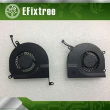Nova cpu cooler a1286 ventilador para macbook pro 15