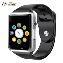 HIWEGO WristWatch Bluetooth Smart Watch Sport Pedometer With SIM Camera Smartwatch For Android Smartphone PK GT08 U8 M26