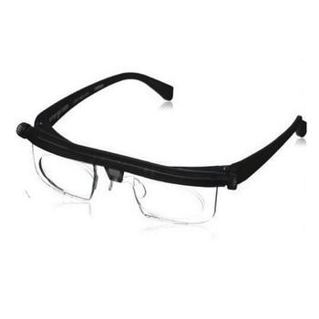 Vision Focus Adjustable Reading Glasses Myopia Eye Glasses -6D to +3D Variable Lens Correction Binocular Magnifying Porta Oculos регулируемые очки dial vision