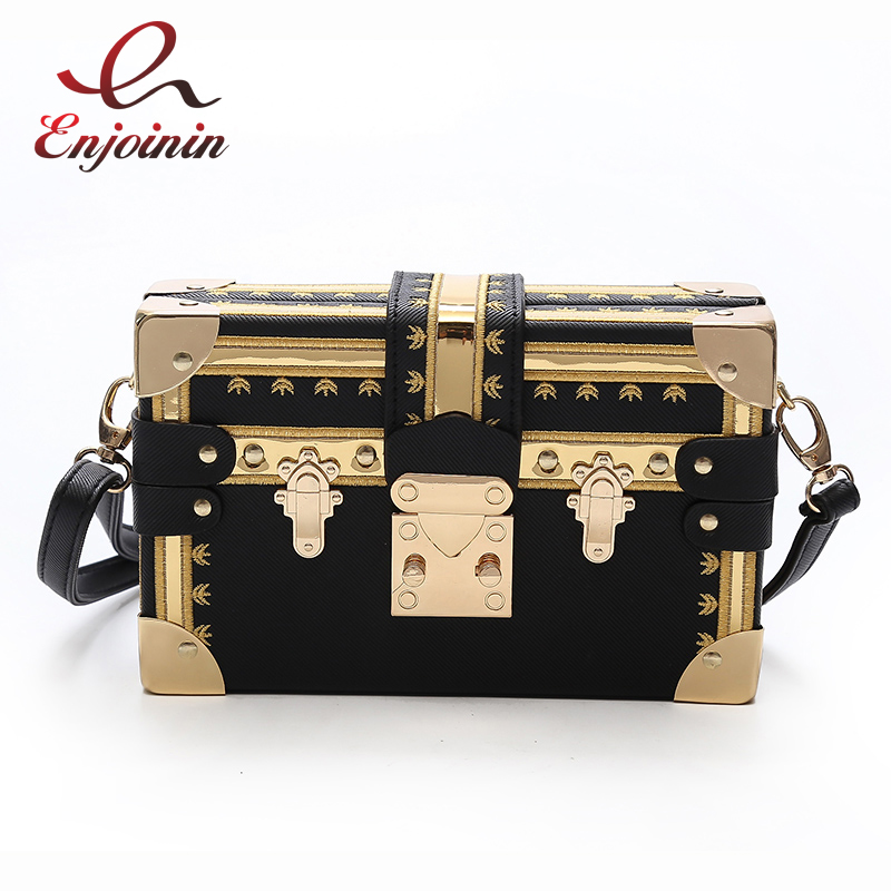 Fashion box design pu leather rivets metal buckle casual ladies partys clutch bag shoulder bag across body mini messenger bag new punk fashion metal tassel pu leather folding envelope bag clutch bag ladies shoulder bag purse crossbody messenger bag