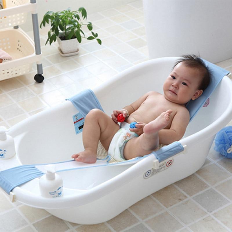 új baba fürdő háló kereszt alakú állítható fürdőülés - Babaápolási