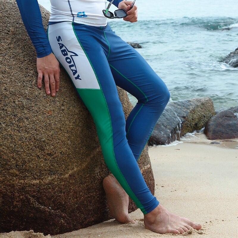Men Surfing Rash Guards Wetsuit Diving Pants Mans Surf Clothing Male Surfing Trousers NK009