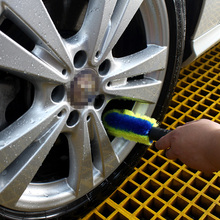 AutoCare Premium Car Wheel Wash Brush Double Loops Car Cleaning Ideal for Car Boat Home Car Detailing Brush