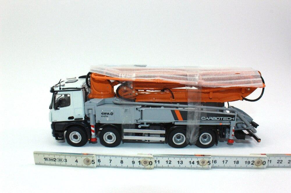 NZG 8851 MB Arocs 8x4 & CIFA K47H Truck Mounted Concrete Pump 1:50 NEU In OVP
