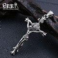 Beier 316L Stainless Steel pendant necklace  Jesus cross pendant  jewelry  BP8-188