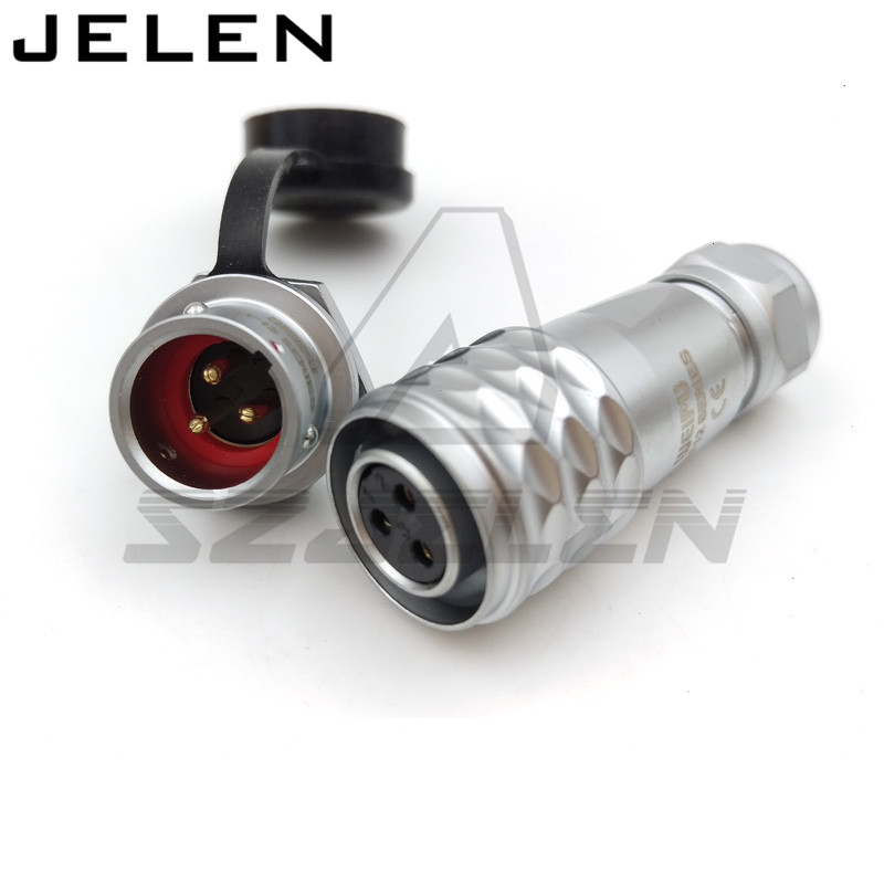 цены WEIPU SF12 series connectors plugs and sockets, Electrical circular metal IP67 3 pin waterproof female straight weipu connector