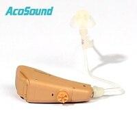 Acosound встроенный ушах Masker слуховой аппарат Спецодежда медицинская Открыть Fit Цифровой РИК ухо помощи Усилители домашние слуховой аппарат