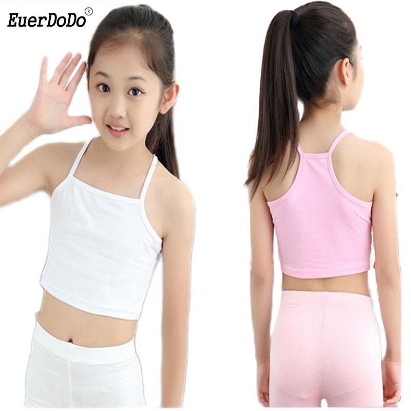 Girls Tank Top Cotton Underwear For Children Summer Girl Undershirts Kids  Singlets Baby Camisoles Bra Teenager Clothing 8 10 12 - Best Sale #7401E3 |  Cicig