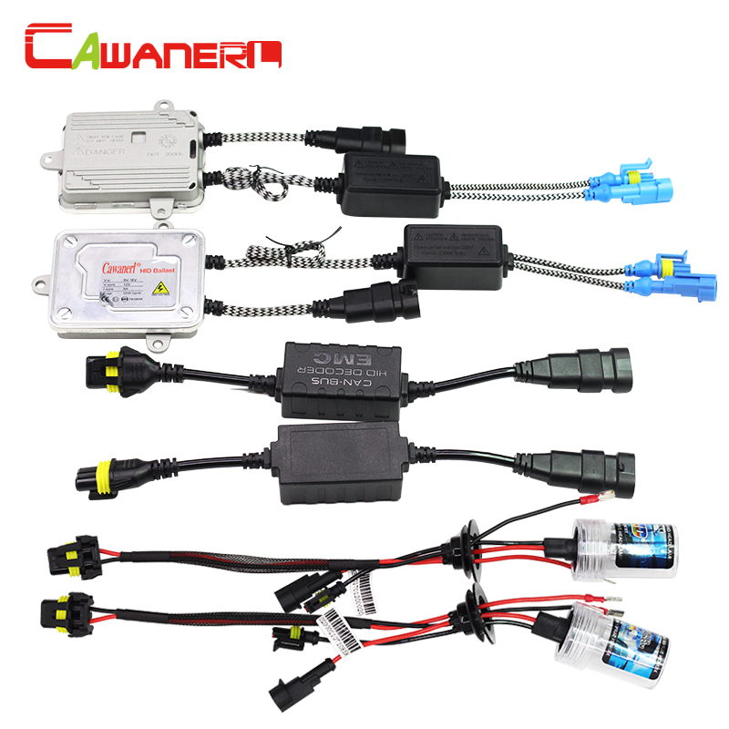 Cawanerl H8 H9 H11 55W Auto HID Xenon Kit Bulb AC Ballast Canbus Decoder Anti Error Flicker 3000K-12000K Car Fog Light Headlight buildreamen2 55w 880 881 car light hid xenon kit 3000k 8000k anti flicker no error ac ballast bulb canbus adapter auto headlight