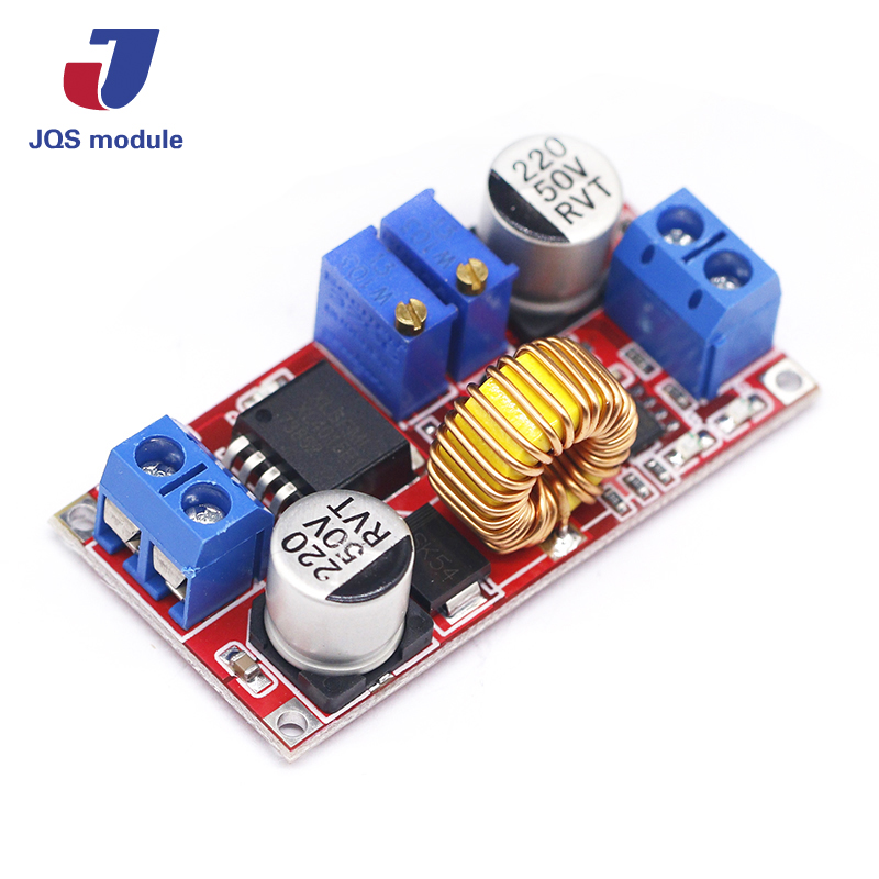 Original 5A DC to DC CC CV Lithium Battery Step down Charging Board Led Power Converter Lithium Charger Step Down Module XL4015 inter step is cc 2usb000as 000b201