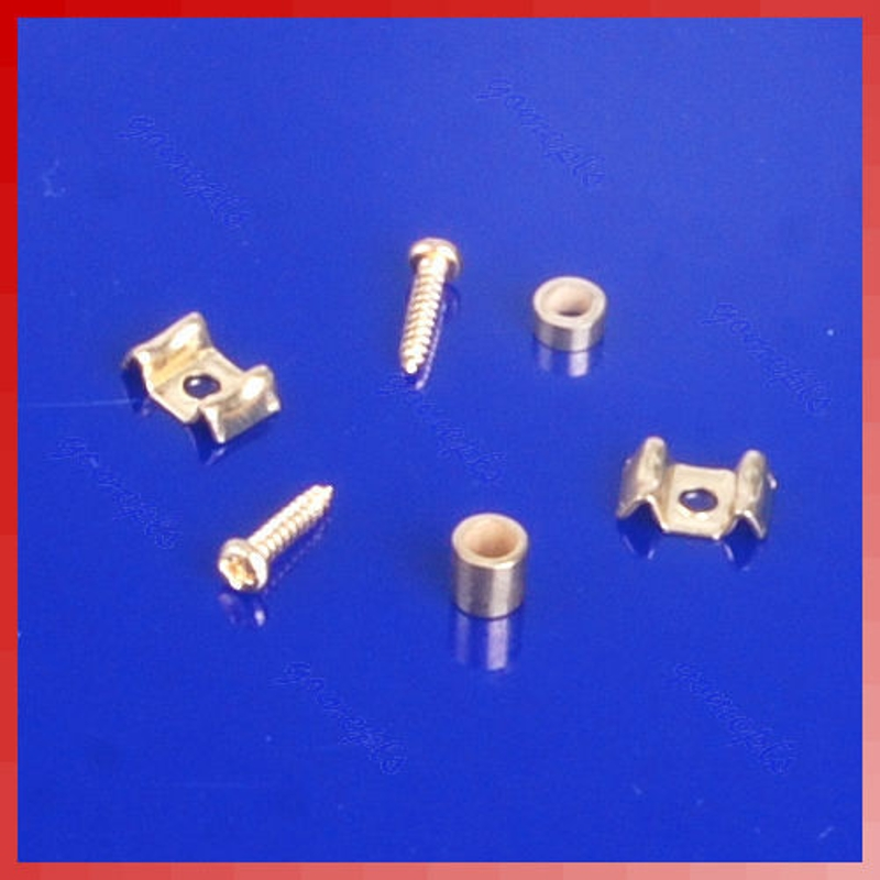 Professional Guitar String Tree Guide Retainer Screws Gold-plated New