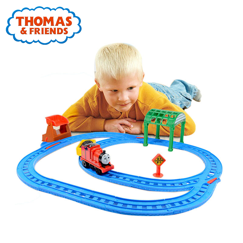 Thomas&Friends Train Toys Electric Series James and Percy Plastic Mini Railway Track Set Funny Accessories Thomas Train Toys