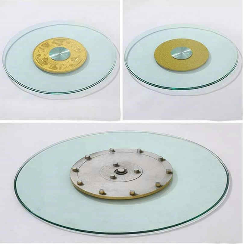 Hq Gl01 Tempered Gl Top 70cm 80cm 90cm Lazy Susan With