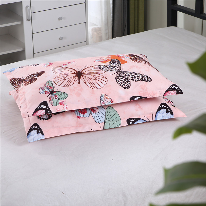 LAGMTA 2pcs 100% Polyester Fabric Printing Reactive Pillow Cover 50 * 70cm & 70 * 70cm Multi-Specification