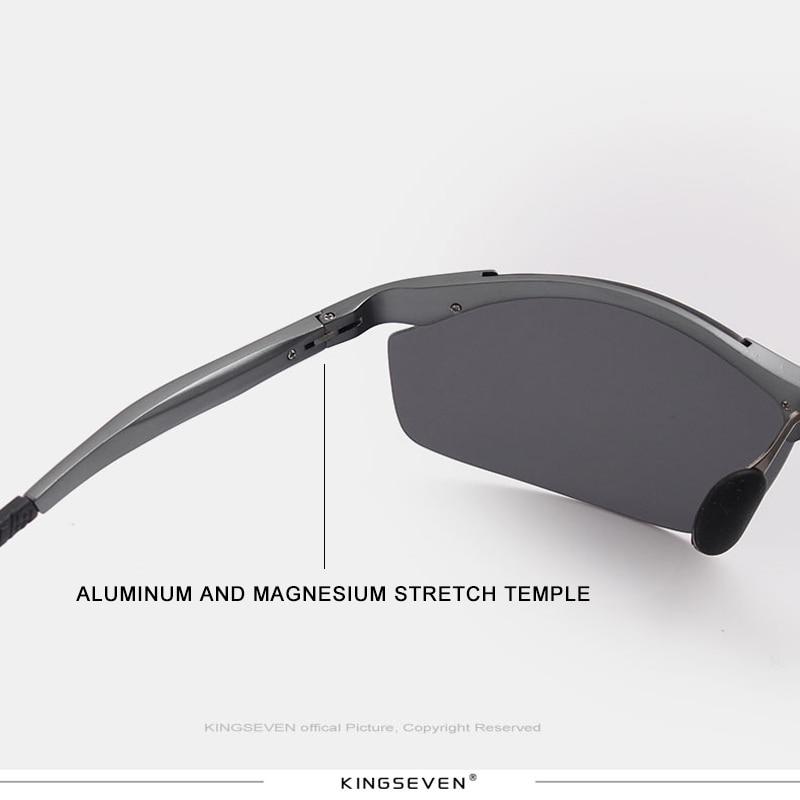 Kingseven μόδα πολωμένο γυαλιά ηλίου - Αξεσουάρ ένδυσης - Φωτογραφία 4