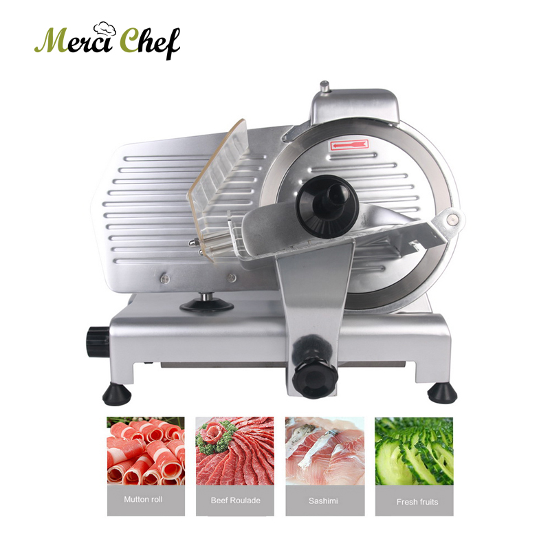 2018 New Arrival Commercial Meat Slicer Electric Meat Cutter Sliceable Pork Frozen Meat Cutter Slicer Cutting Machine 110V