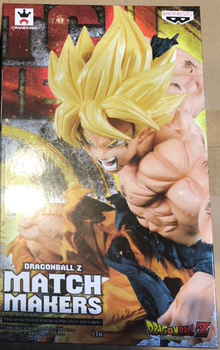 Dragon Ball Z Banpresto MATCH MAKERS vol.1 Collection Action Figure – Super Saiyan Son Goku
