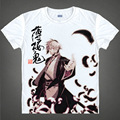 Hakuoki shinsengumi kitan japonés anime t-shirt camisa de algodón de navidad disfraces de halloween anime hijikata toshizo clothing