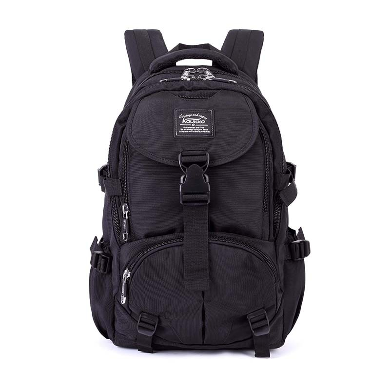 Buy Hot Selling Black Waterproof Nylon Hot Brand travel Backpack Men's Laptop Backpack Business Trip Reserve for College Students