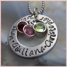 Personalized Necklace Customized Hand Engrave Letter 925 Sterling Silver Pendant Custom Jewelry Mothers Day Gift .