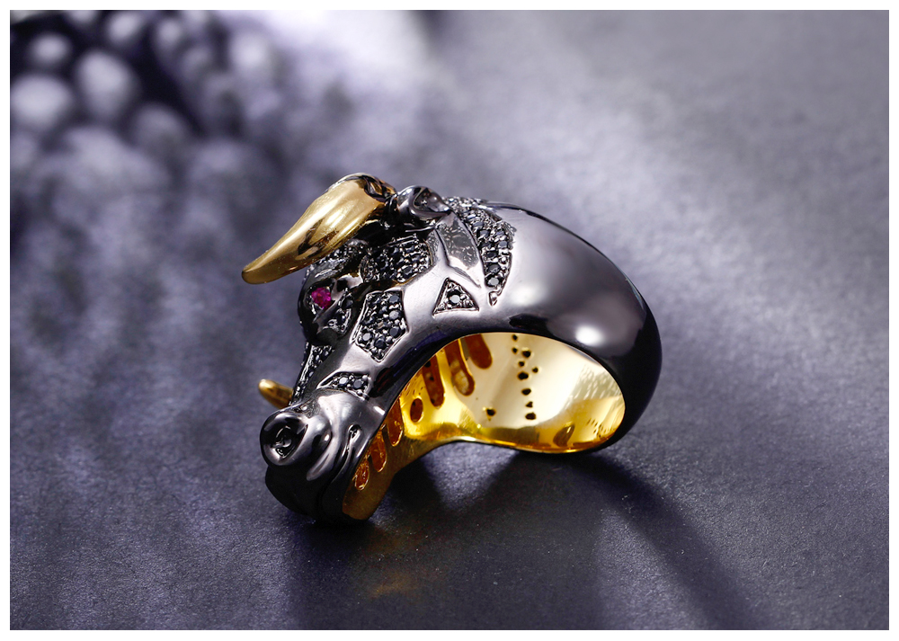 cow head ring 07