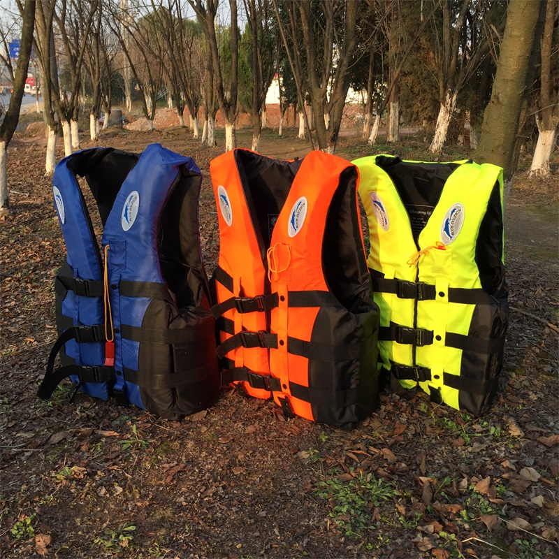 Adult life jacket jackets men vest kayka life vest fishing vest for fishing S-XXL Ski Drifting Vest With Whistle Prevention