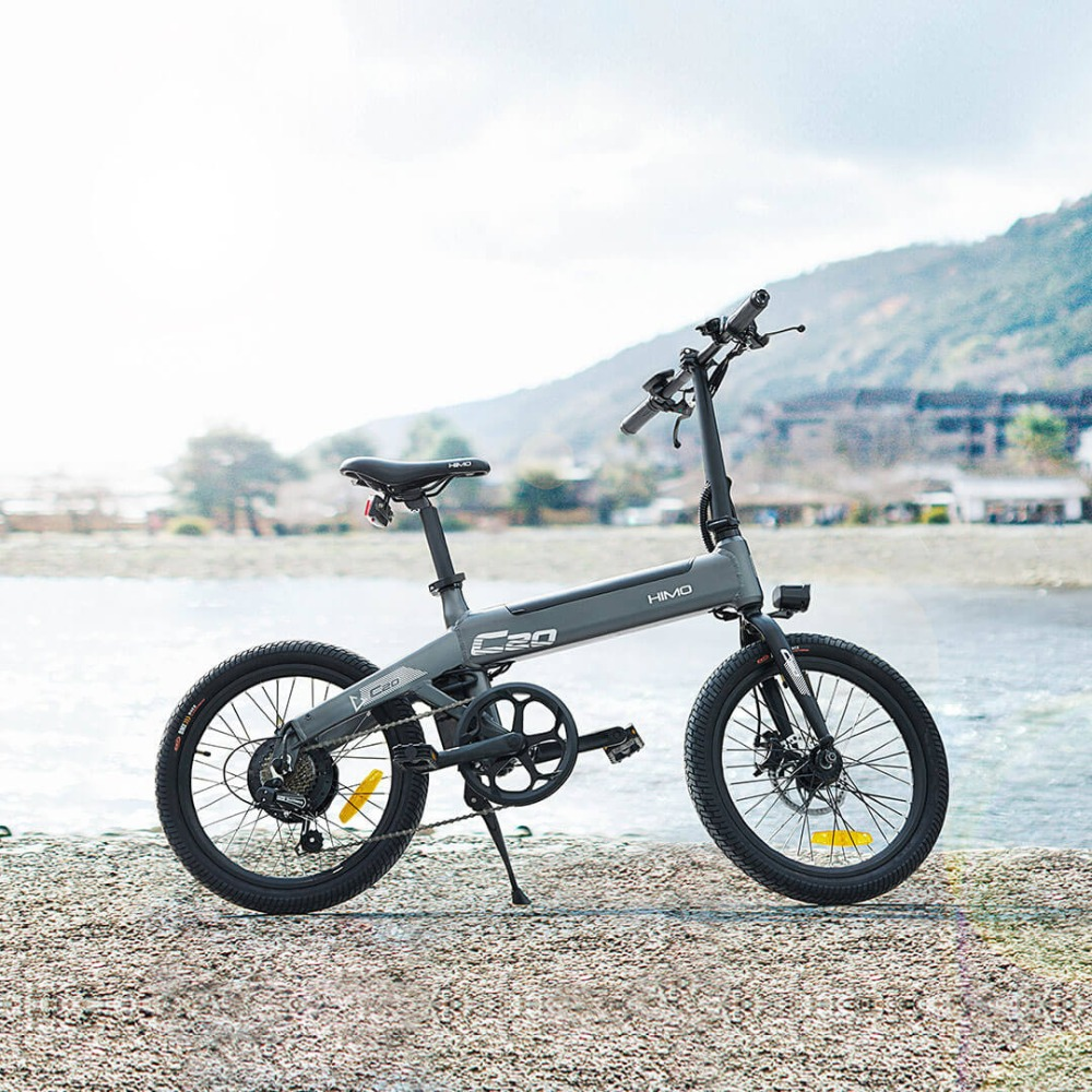 Xiao MI himo 20inch electric bicycle 36v10ah 250w DC motor city ebike  Lightweight electric assist bike Pas range 80km