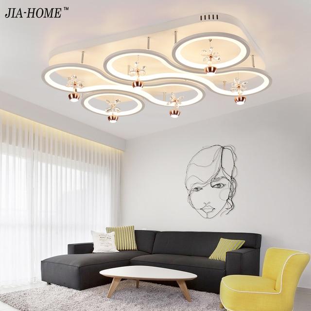 Neue Design Acryl Moderne Led deckenleuchten Für Wohnzimmer ...