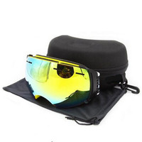 2016 Brand Benice Ski Goggles Double Lens Anti Fog Big Spherical Winter Skiing Motocross Snowboard Glasses