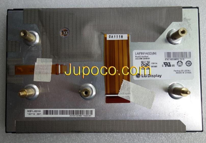 100% NEW ORIGINAL LA070WV4 SD04 LA070WV4(SD)(04) 7 LCD SCREEN DISPLAY 100% brand new display for mercedes e seris la070wv4 sd 01 la070wv4 sd 02 dispaly