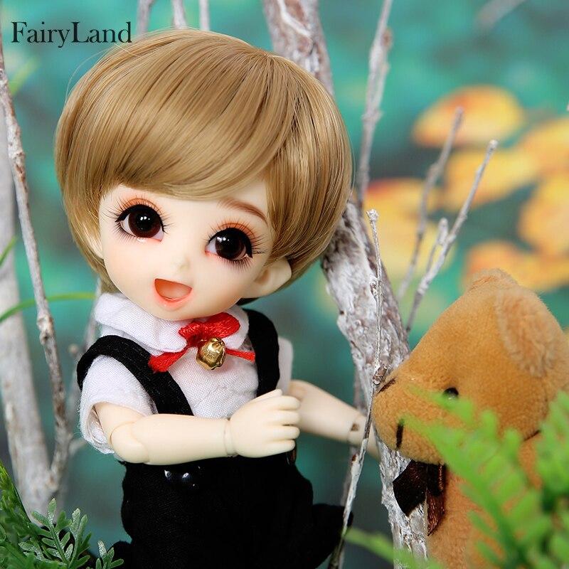Fairyland Pukifee Pongpong bjd sd dolls 1 8 body model girls boys eyes High Quality toys