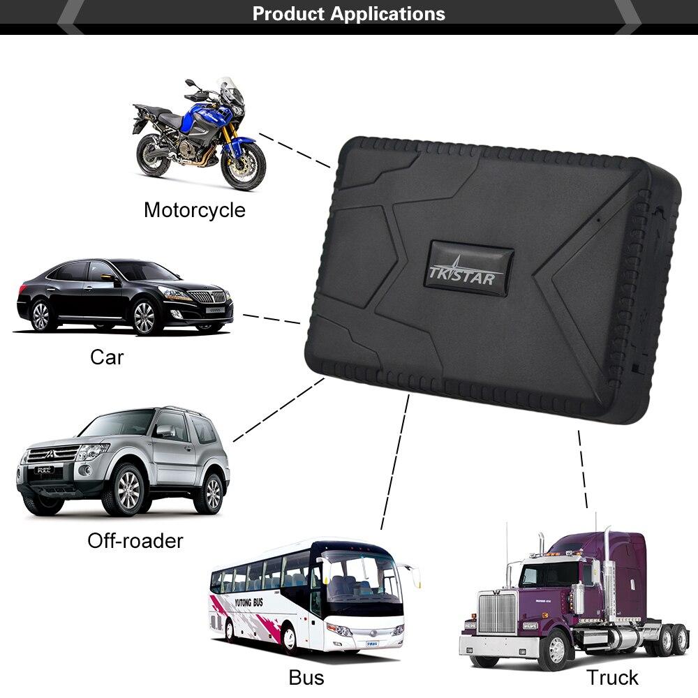 Traqueur imperméable de véhicule TK915 traqueur de GPS de voiture 12-24 V GPS localisateur aimant fort 10000 mah longue batterie en veille 120 jours APP gratuite