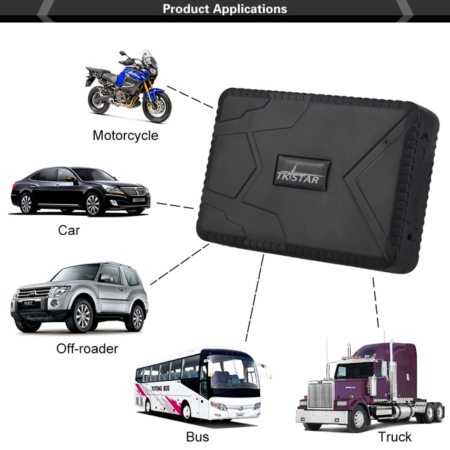 Waterproof Vehicle Tracker TK915 Car GPS Tracker 12-24V GPS Locator Strong Magnet 10000mah Long Battery Standby 120Days Free APP