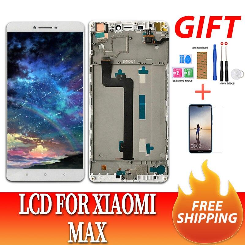 """6.44 """"écran d'origine pour XIAO mi mi Max affichage LCD avec écran tactile mi max + cadre pour Xiao mi Max LCD remplacement de l'écran"""