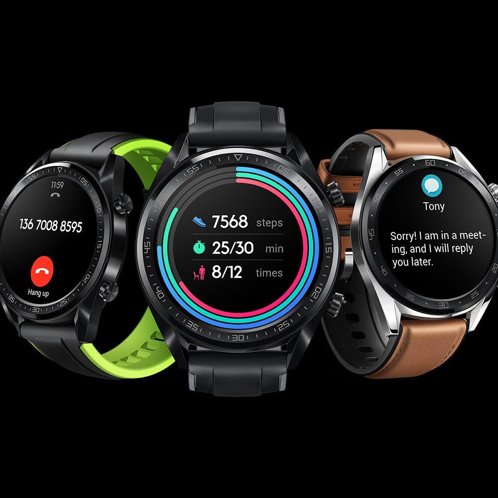 Huawei Honor Watch GT GPS Watch BT4.2 5ATM 2-Week Battery Life Activity Tracker Smart Notifications Coaching Outdoor Sport Watch